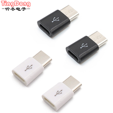 USB Adapter USB C to Micro USB Converter Cable Type C Adapter USB 3.1 for Macbook for Samsung s8 for Huawei p10 p9 OTG Adapter цена 2017