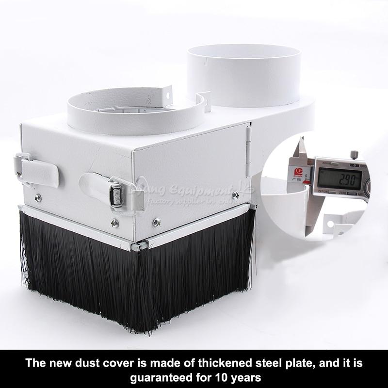 Woodworking CNC engraver double open door suction hood engraving machine accessories C00273-280