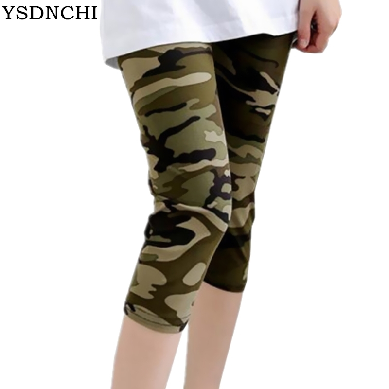 YSDNCHI Women   Leggings   Pantalones Black Milk Print   Legging   2018 Summer Soft Skin Legins Stripe Womens Camouflage Leggins Vadim