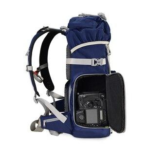 Image 4 - TUBU 6128 Travel Camera Backpack Digital SLR Backpack Soft Shoulders Waterproof Camera Bag Men Women Bag Camera Video Bag