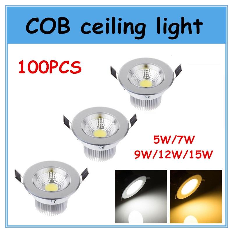 ٩(^‿^)۶100 шт. COB Подпушка потолочный светильник ...
