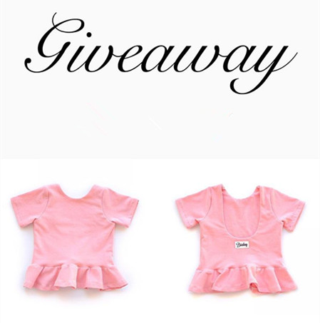 2017 Summer Baby Girls Brand Clothing Ruffle T-shirt Lovely Solid Kids T-shirts Toddler Pink Clothes Kikikids Children Clothing