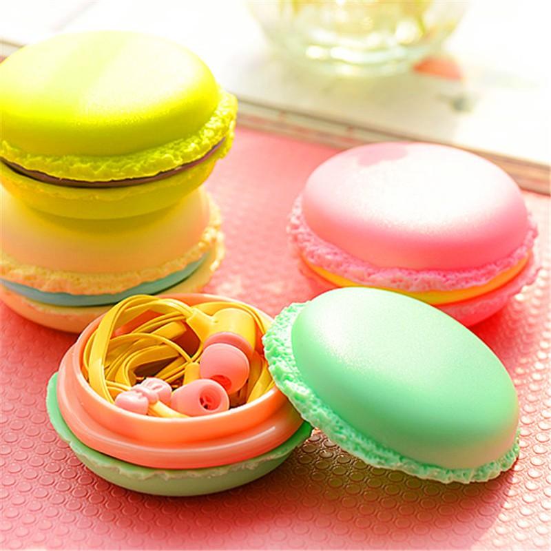 candy color earphones