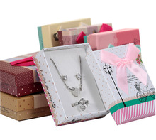 7*9*3cm 6Colors Box For Jewelry Free shipping wholesale 60pcs /lot Necklace Pendant Gift Packaging Boxes Ring Earring Box