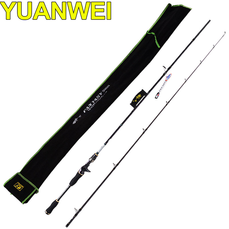 YUANWEI 2.4m Casting Spinning Fishing Rod 99% Carbon M IM8 Vara De Pesca Telescopic Fishing Pole Peche A La Mouche Lure Rod tsurinoya mystery ii spinning casting fishing rod 1 98m 2 1m m f power carbon fishing pole vara de pesca carp fishing lure rod