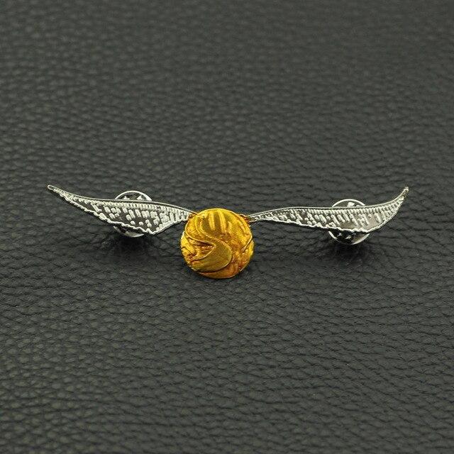 Брошка Золотой снитч Гарри Поттер 2