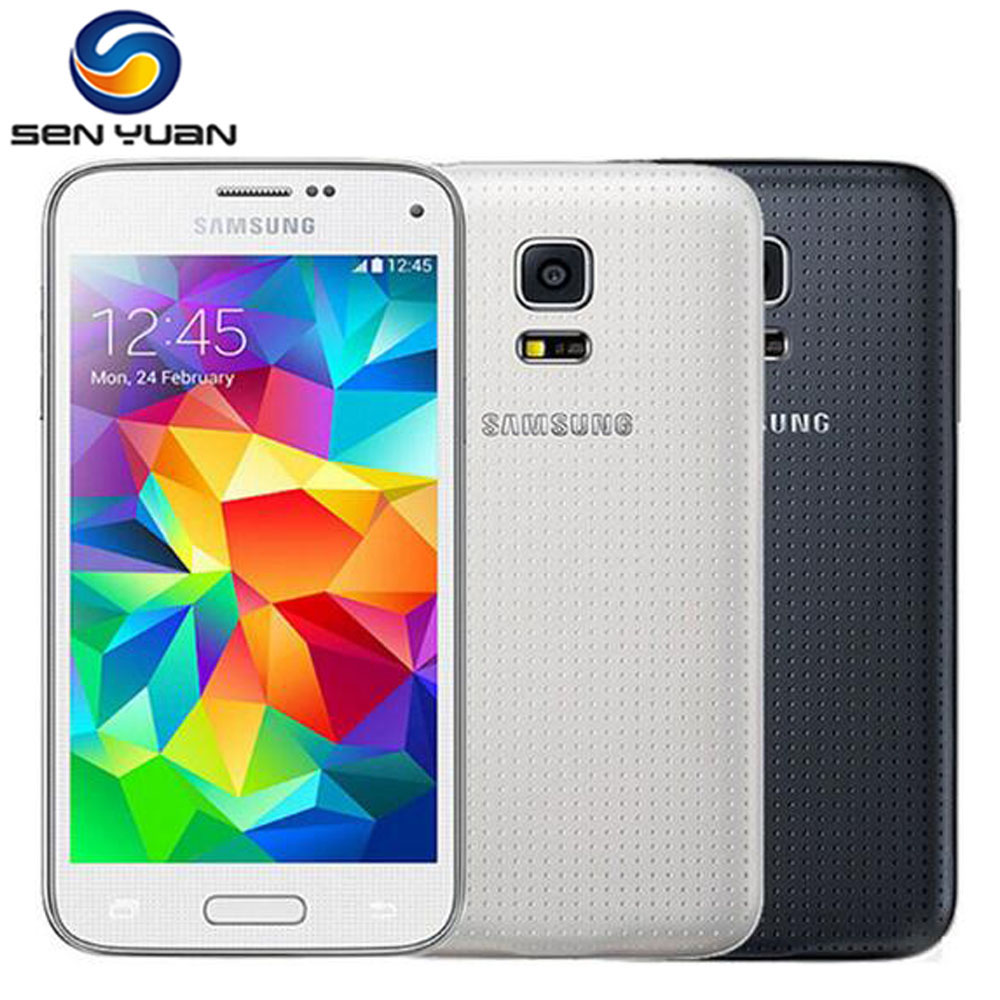 samsung phones touch screen android with price 2015. original samsung galaxy s5 mini g800f mobile phone quad core 8.0mp camera 4.5\u0026quot; touch phones screen android with price 2015 f