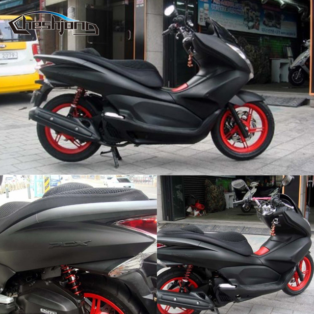 Matte Black Vinyl Car Wrap Motorcycle Scooter DIY Styling Adhesive Film Sheet With Air Bubble Free Sticker