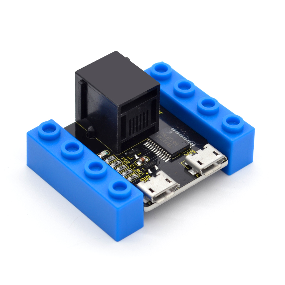 Kidsbits Blocks Coding TB6612 2 Way Motor Drive Module For Arduino STEAM EDU (Black And Eco Friendly)