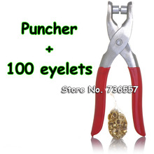 Eyelet Button Punch DIY Manual Fastener Press Pliers Cloth Button Snap Button Making Tool