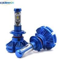 Cooleeon X3 LED Car Headlight Bulbs H1 H4 H7 H11 9005 9006 Auto Headlamp Kits With