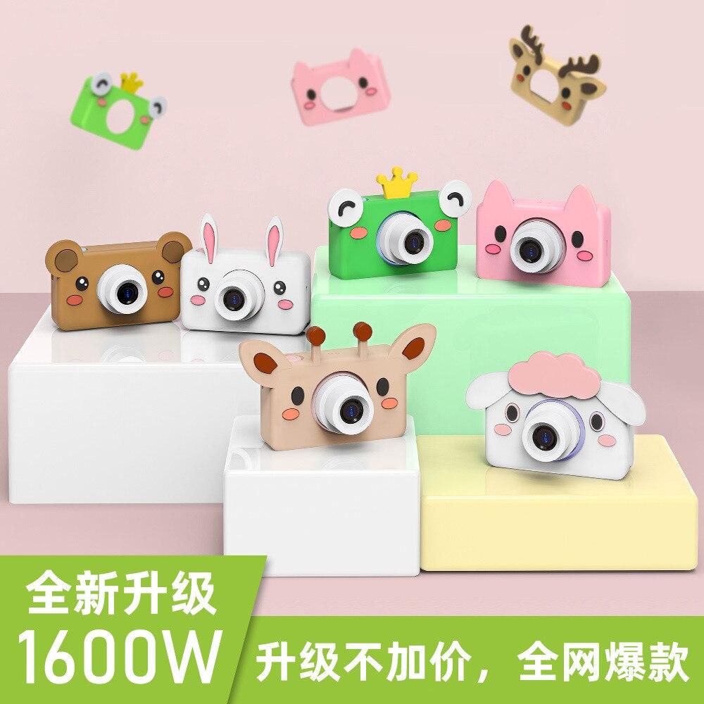 Enfants jouets enfants appareil photo numérique 32 GB carte mémoire inclus dessin animé animaux jouets éducatifs pour enfants cadeau d'anniversaire - 3
