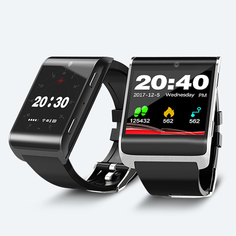 4G Smart Watch DM2018 1.54 inch GPS Sports smartwatch phone Android 6.0 Bluetooth 4.0 Heart Rate Monitor Pedometer PK KW88 DM98 bluetooth sports smart watch with heart rate monitor smartwatch for android ios pk kw88 k88h