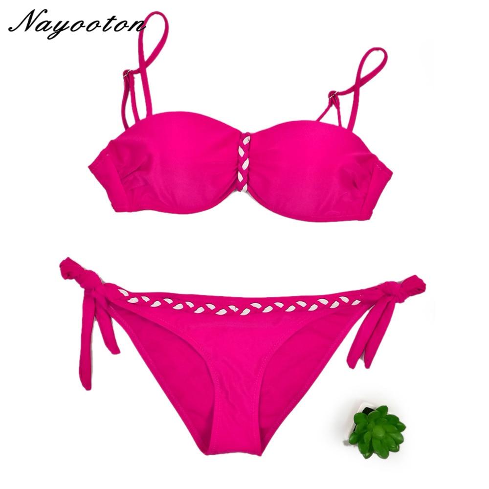 Új szexi 2019 bikini fürdőruha fürdőruha Női párnázott bikini Bikini szett Új fürdőruha Lady fürdőruha női fürdőruha D0124-1