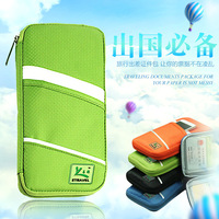 Multifunction Passport Package Air Tickets Passport Holder Waterproof Oxford Clothmulti Purpose Document Package Dropship