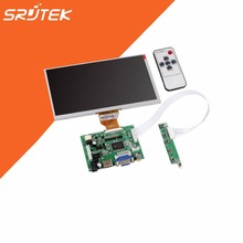 Cheap price 9 Inch for Raspberry Pi LCD Display Screen TFT Monitor AT090TN10 with HDMI VGA Input Driver Board Controller