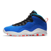 ccd37975160 Jordan Retro Tinker 10 Men Basketball Shoes Cement Man Sport Sneakers  Westbrook Chicago Blue Outdoor Shoes