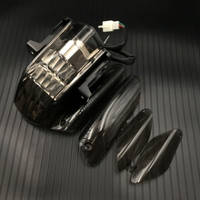 เลนส์ควันรถจักรยานยนต์ด้านหลังไฟท้ายไฟท้ายสำหรับ 2005 2008 APRILIA RSV1000/RSV4R 2005 2010 TUONO v2