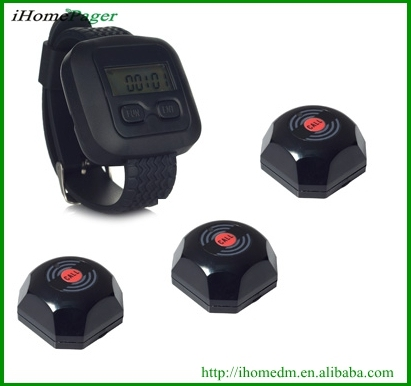 Guest To Waiter System Each Consist Of 40pcs Button And 4 Watches