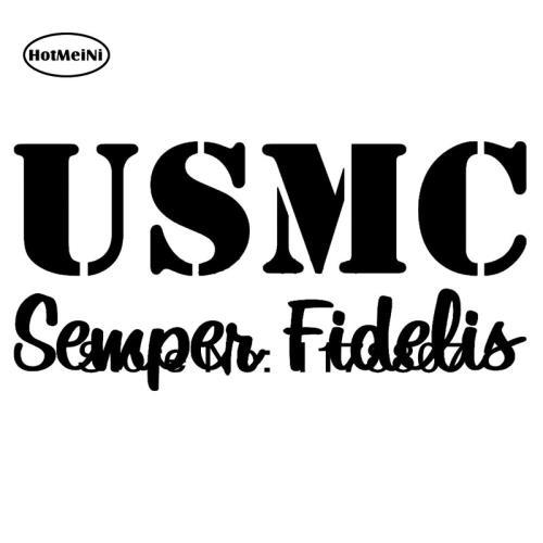 hotmeini usmc marine corp semper fi fidelis decal car sticker for