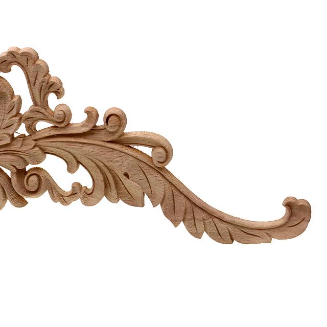 Vintage Wooden Carved Ornament