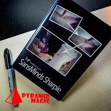 SansMinds Sharpie (DVD и скрытое приспособление) от Will Tsai/close-up street card magic trick/оптовая продажа
