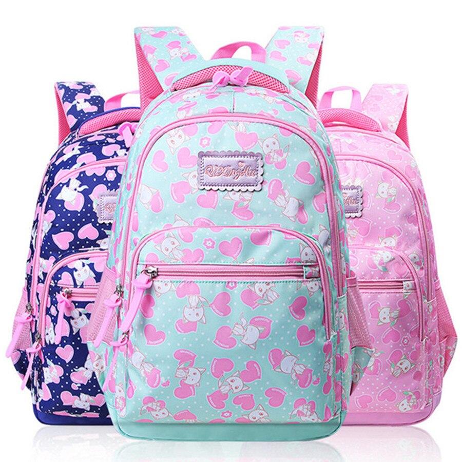 2019 Children School Bags For Girls Waterproof Cartoon Printing Backpacks Kids Book Bag Satchel Knapsack Mochila Escolar