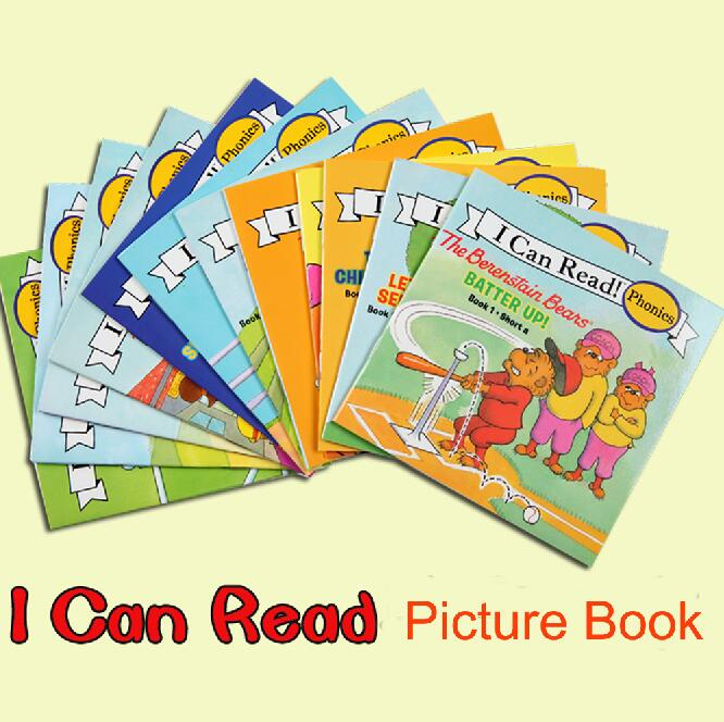 12books/set I Can Read Phonics My Very First The Berenstain Bears picture book English Book For Children kids pocket book(China)