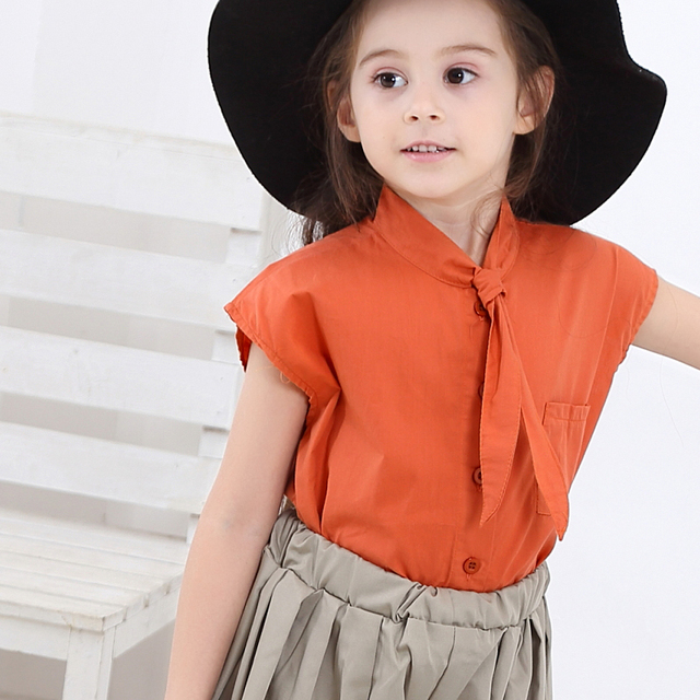 2019 Teen Clothes Suit Elegant Clothing Set For Girls Summer Sailor Collar Children's Clothes 6 8 10 Years Costume For Girls 3