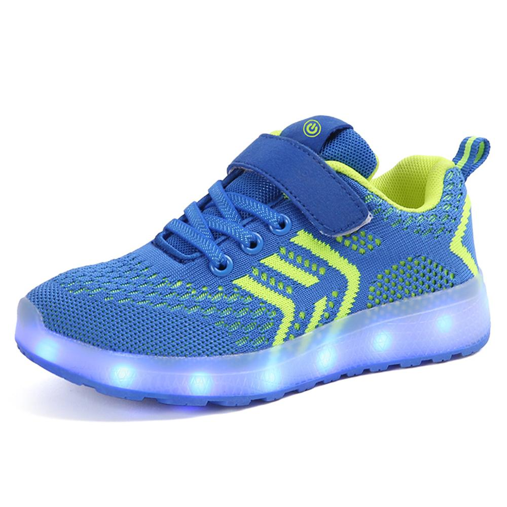 Kids Girl Boy Glowing Sneakers Children Shoes with light USB Charger Luminous Lighted LED lights Casual Flat Boy girl Shoes