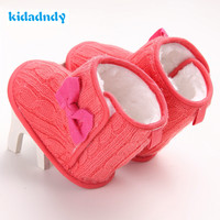 Snow BootsFirst Walkers Soft Sole Crib Toddler Girl Shoes Warm Winter Baby Shoes Newborn Baby Boots