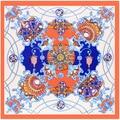2016 hot sale luxury brand silk scarf women shawl h cachecol cape scarves pashmina bandanas foulard femme poncho free shipping