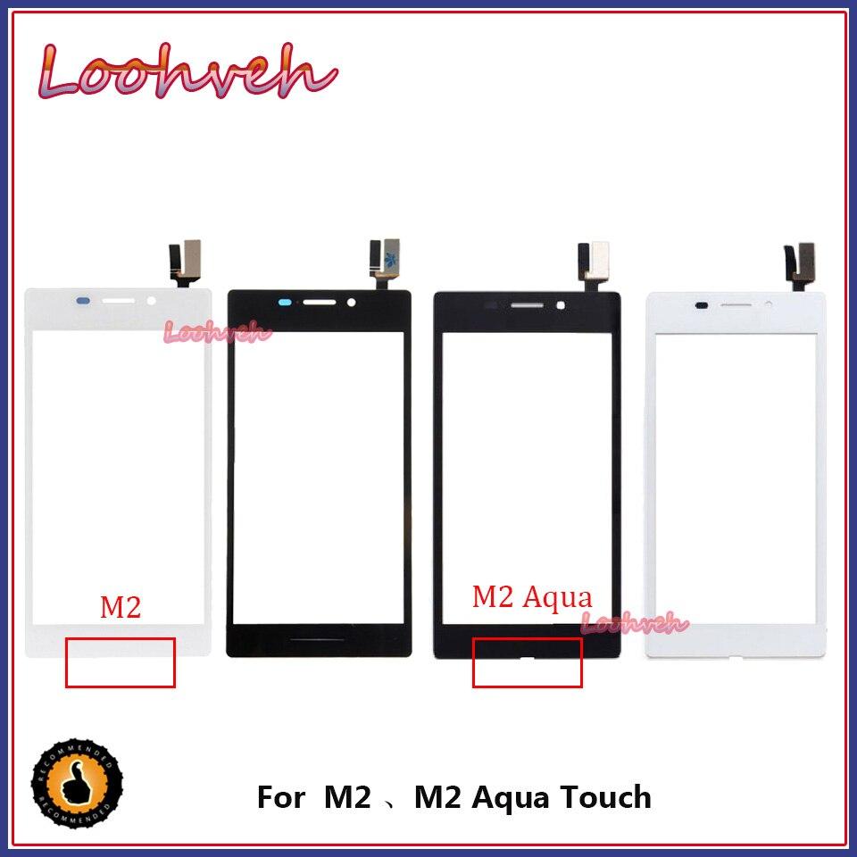 High Quality 4.8'' For Sony Xperia M2 M2 AQUA S50H D2302 D2303 Touch Screen Panel Sensor Digitizer Outer Glass Lens