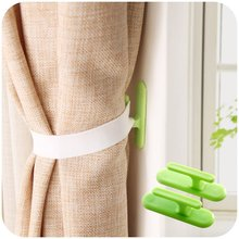 1set Self-adhesive wall hook organizer curtain holder Window Drapery Hooks Curtain Tieback Buckle Clamp Fastener 20pcs pack self adhesive wire organizer line cable clip buckle plastic clips ties fixer fastener holder