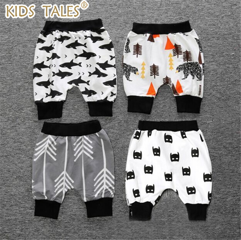2018 Summer Children Cotton Shorts Boys And Girl Clothes Baby Fashion Pants S9