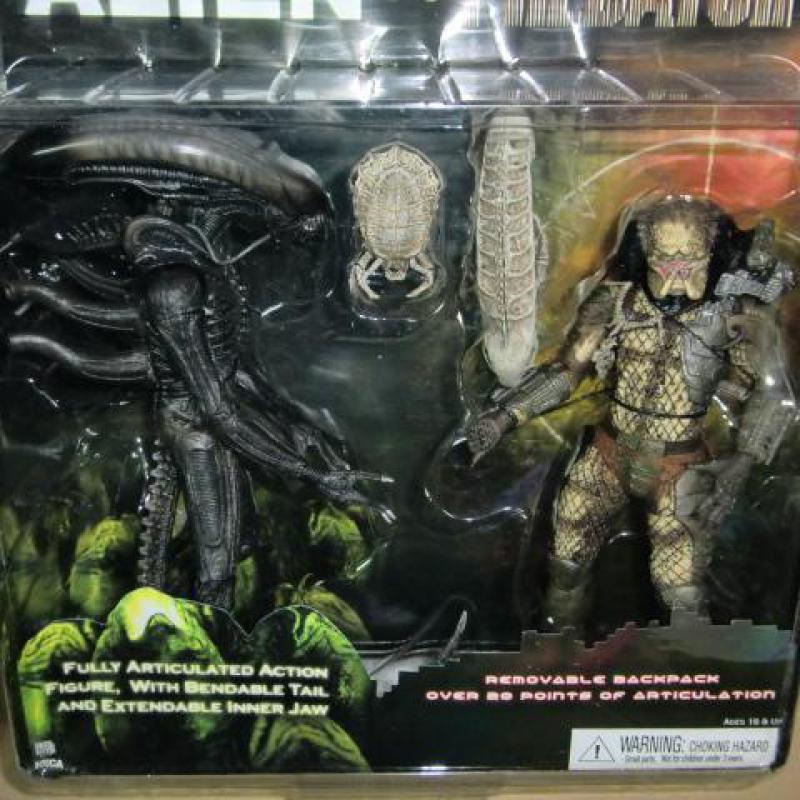 1set Alien Vs Predator Collection Figure Toys 21cm