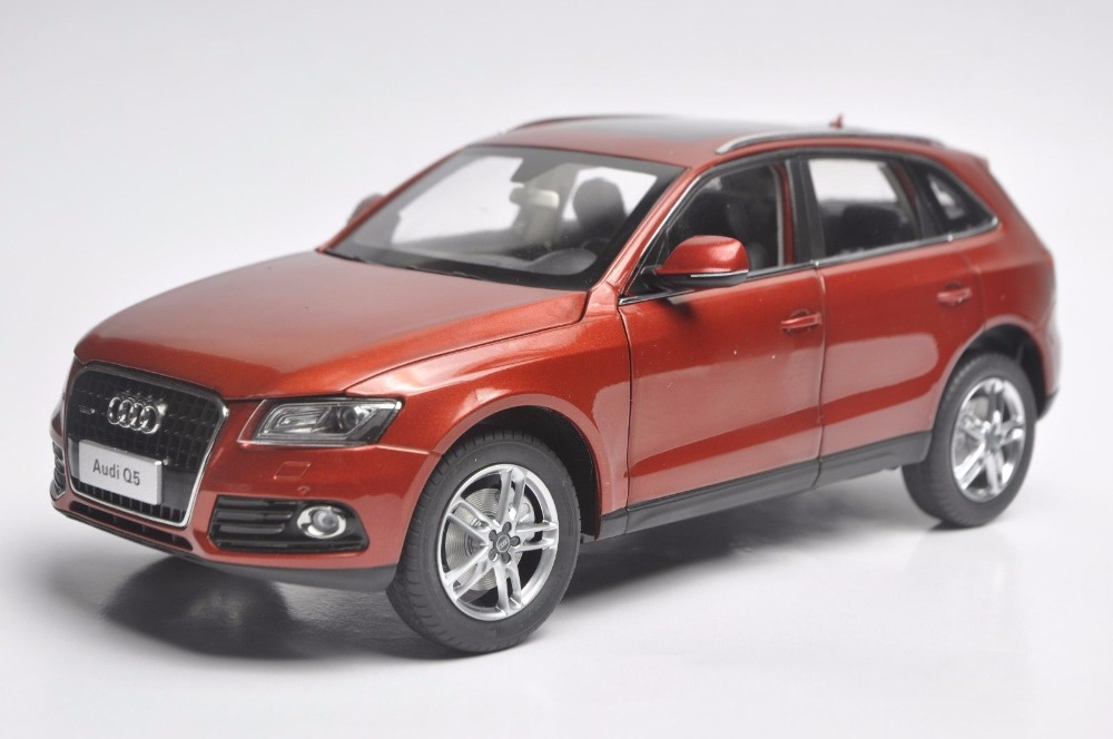 1:18 Diecast Model for Audi Q5 2013 Red SUV Alloy Toy Car Miniature Collection Gift 1 18 vw volkswagen teramont suv diecast metal suv car model toy gift hobby collection silver