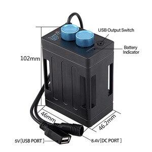 Image 3 - TrustFire EB03 wodoodporna 18650 obudowa na akumulator powerbank Box USB ładowanie telefonu DC 8.4V pojemnik na baterie skrzynka na Led rowerowy