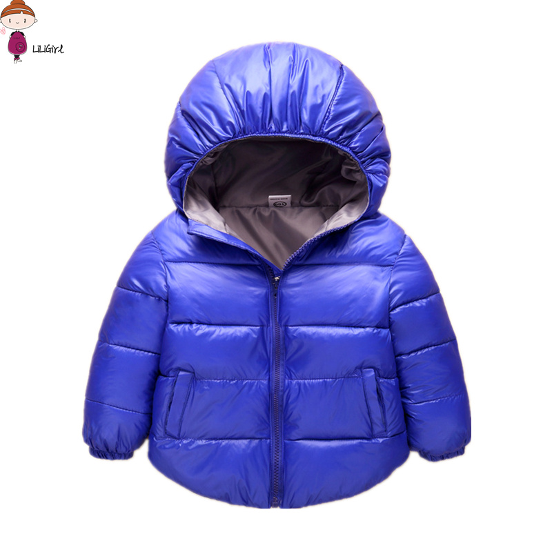 LILIGIRL Baby Boys Winter Clothes Warm Jacket 2017 New Quality Assurance Coat Girl Clothing Down Jackets Kids Outerwear 2-7 year