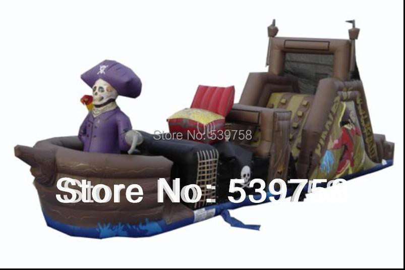 Factory direct inflatable pirate ship, inflatable slides, inflatable trampoline, inflatable toys. factory direct inflatable castle slide small household slides inflatable slides cn 046
