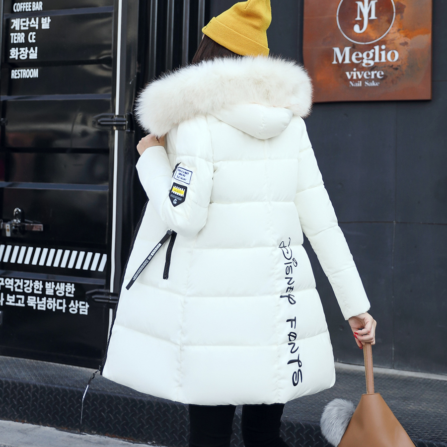 Winter Jacket Women Cotton Short Jacket 2017 New wadded Padded Slim Hooded Warm Parkas fur Collar Outerwear Female winter Coat 2017 women winter hooded winter coat with fur collar pockets female short jackets cotton padded parkas wadded snow wear yl002