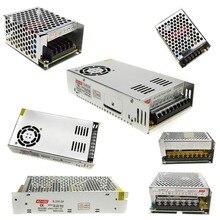DC5V-24V Transformadores de iluminación de Alta Calidad LLEVÓ Las Luces Del Controlador para LED Strip fuente de Alimentación 10 W 20 W 60 W 100 W 120 W 200 W 300 W 600 W