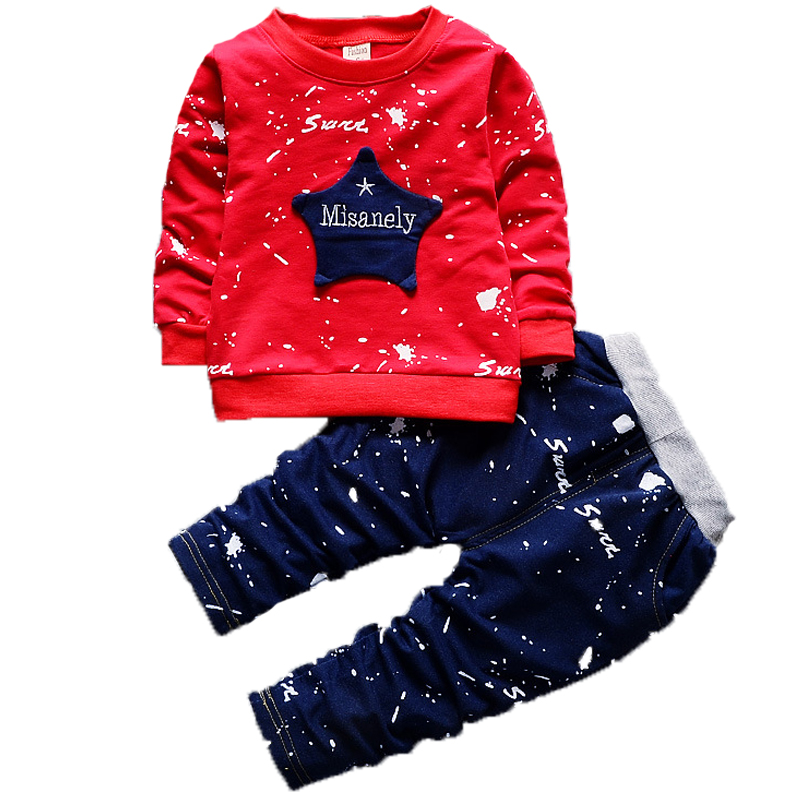 New Arrival Baby Boy children clothing Set Star Letters Long Sleeve Top + Long Pants kids clothes Girls Graffiti Clothes SetNew Arrival Baby Boy children clothing Set Star Letters Long Sleeve Top + Long Pants kids clothes Girls Graffiti Clothes Set