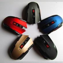 2,4 ГГц мини портативный беспроводной оптический 1200 dpi регулируемая профессиональная игровая мышь Мыши для ПК ноутбука рабочего стола