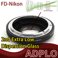 Optical Glass adapter Suit For Canon FD Lens To Nikon D5300 D610 D7100 D5200 D600 D3200 D800 D5100 D7000 D3100 D300S Camera