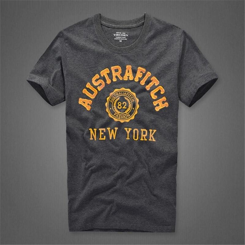 Camiseta t-shirt katoenen O-hals brief man merk - Herenkleding - Foto 3