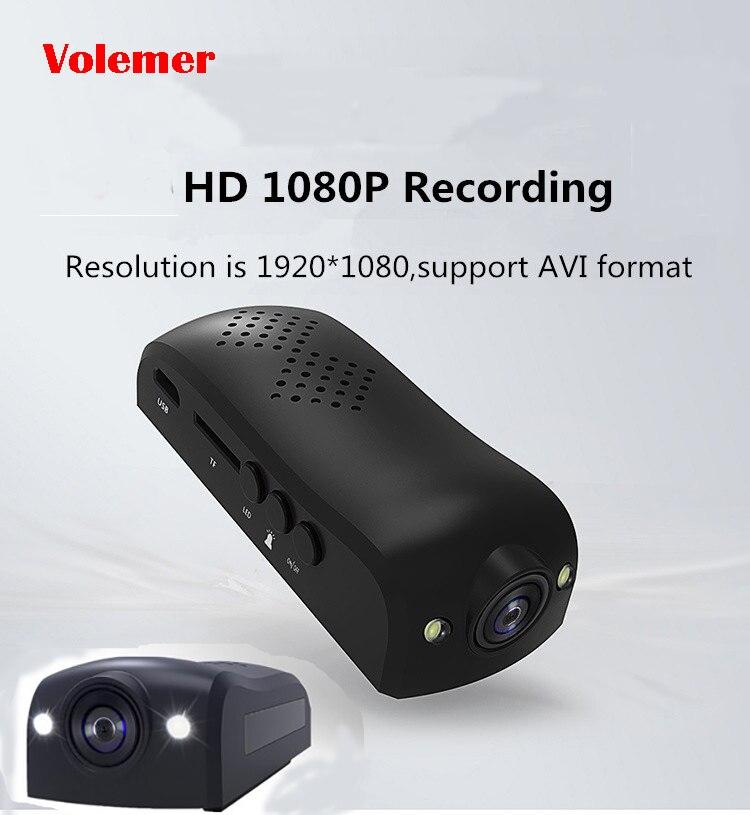 IDVA10S Mini Macchina Fotografica Full HD 1080 p Mini Videocamera Portatile con USB Clip di Mini DV DVR Video Recorder Pen Micro Camara pk IDV007 IDV009 SQ11