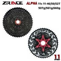 Zrace alpha 11 s 경량 카세트 11 속도 mtb 자전거 freewheel 11-46 t/50 t/52 t