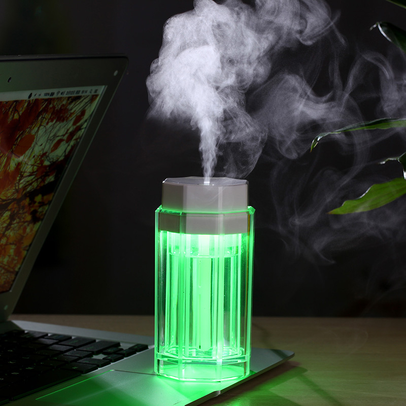 Humidificateur d'air portable lampe LED colorée USB atomiseur - Appareils ménagers - Photo 5