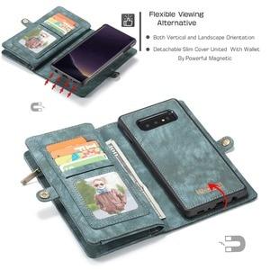 Image 5 - Étui portefeuille pour Samsung Galaxy S10 fermeture éclair magnétique étui de téléphone Folio housse à rabat pour Samsung A51 S20 Plus A50 A70 A80 S9 S8 Note 9